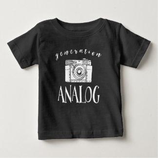 Fotograaf van de Camera van de generatie de Baby T Shirts