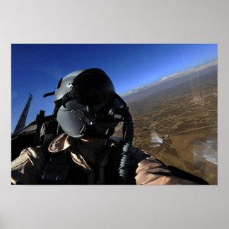 Fotograaf van het Gevecht van de Luchtmacht van de Poster