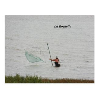Fotografie La Rochelle, Frankrijk - Briefkaart