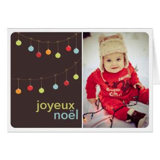 Fotokaart van Vrolijk Kerstmis Wenskaart