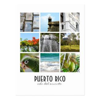 Foto's van Puerto Rico Briefkaart