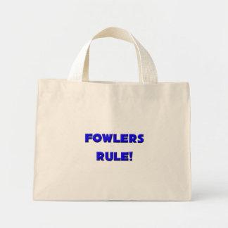 Fowlers beslissen! draagtas