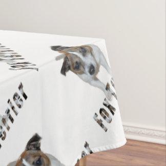 Fox-terrier en het Logo van de Fox-terrier, Tafelkleed