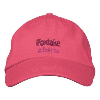 Foxlake het Pet van Alberta, Canada Geborduurde Pet
