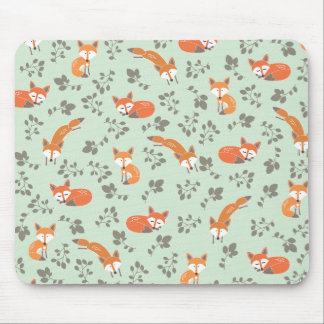 Foxy BloemenPatroon Muismat