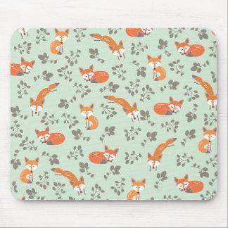 Foxy BloemenPatroon Muismatten