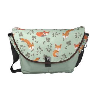 Foxy BloemenZak van de Boodschapper Courier Bag