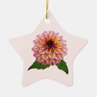 Foxy Dame van de dahlia Keramisch Ster Ornament
