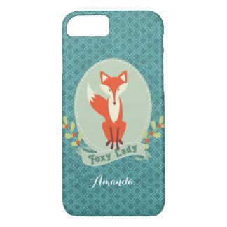 Foxy iPhone 7 van Dame Argyle Hoesje