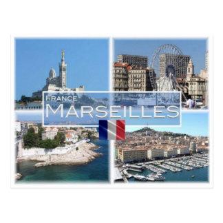 Fr Frankrijk - Marseille - Briefkaart