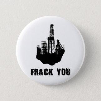 Frack u ronde button 5,7 cm