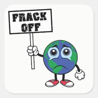 FRACK VAN de Sticker van Fracking van het Einde