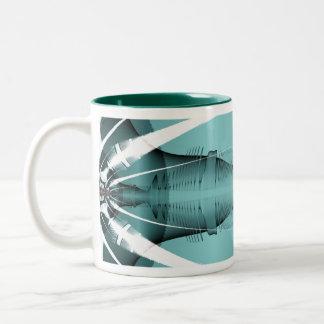 Fractal 902 tweekleurige koffiemok