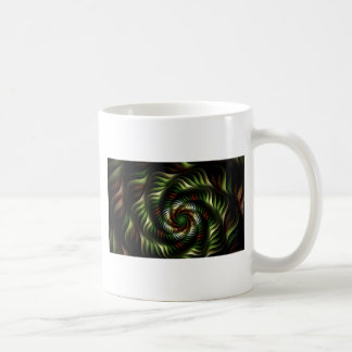 Fractal draaikolk koffiemok