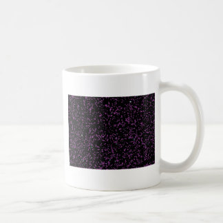 Fractal schittert het Paarse Roze van de Kunst de Koffiemok