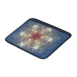 Fractal van de Bloem van de zomer de Lucht/iPad MacBook Air Beschermhoezen