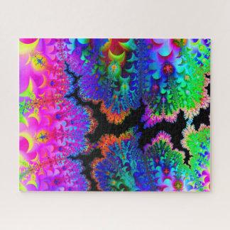 Fractal van de Kleurstof van het stropdas Raadsel Puzzel