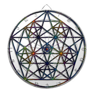 Fractal van de Meetkunde van de overvloed Heilige Dartbord