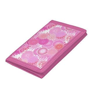 Fractal wervelingspatroon, schaduwen van roze
