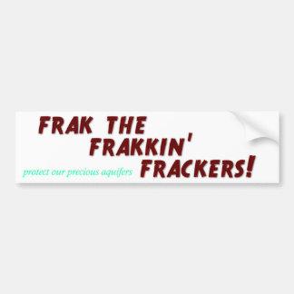 Frak frakkinfrackers! bumpersticker