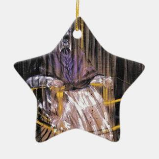 Francis Bacon - Gillende Pausen Keramisch Ster Ornament