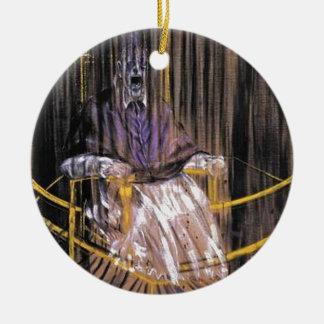 Francis Bacon - Gillende Pausen Rond Keramisch Ornament