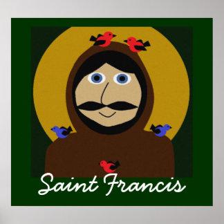 Francis en de Vogels Poster
