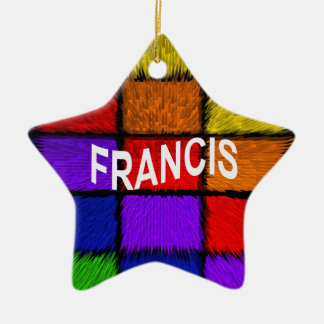 FRANCIS KERAMISCH STER ORNAMENT