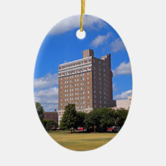 Francis Marion Hotel Keramisch Ovaal Ornament