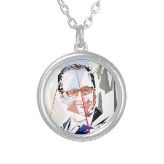 François Hollande Zilver Vergulden Ketting