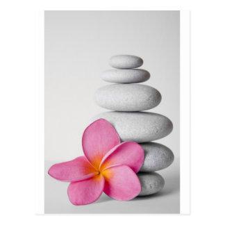 Frangipani Zen Briefkaart