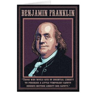 Franklin - Vrijheid Briefkaarten 0
