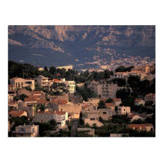 Frankrijk, Marseille, de Provence. Zuidelijke Briefkaart