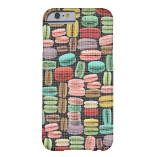 Frans Pop-art Macarons Barely There iPhone 6 Hoesje