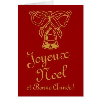 Frans wenskaart | Joyeux Noel van Kerstmis