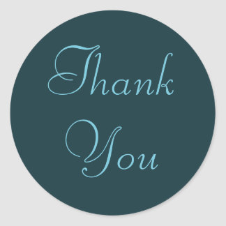 Franse Aqua dankt u Stickers