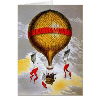 Franse Ballon Wenskaart