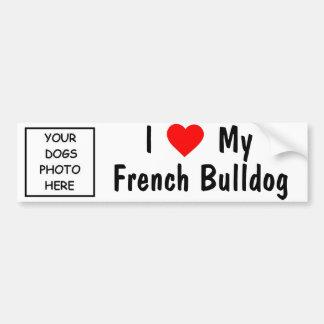 Franse Buldog Bumpersticker