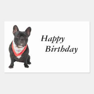 Gelukkige Verjaardag Hond Stickers Zazzle Nl