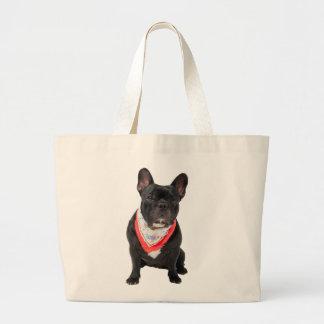 Franse Buldog, hond leuke mooie foto, gift Grote Draagtas