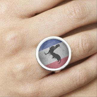 Franse haan ring