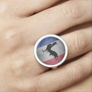 Franse haan ringen