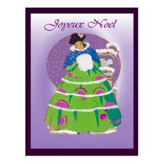 Franse Kerstkaart 1904, Joyeux Noel Briefkaart