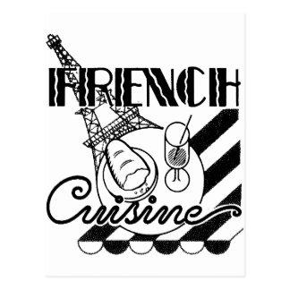 Franse Keuken Briefkaart