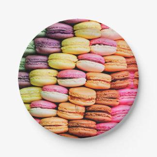 Franse macaron papieren bordje