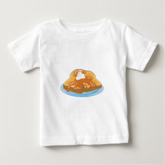 Franse Toost Baby T Shirts