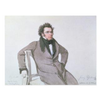 Franz Schubert, 1825 Briefkaart
