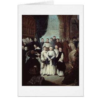 Fraters in Venetië Wenskaart