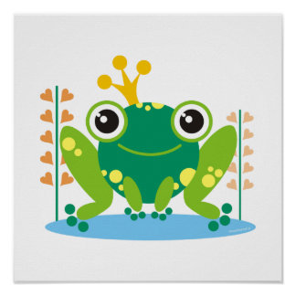 Fred froggy poster