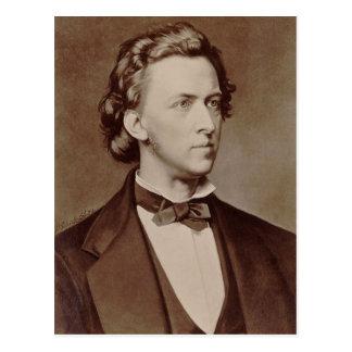 Frederic Chopin Briefkaart